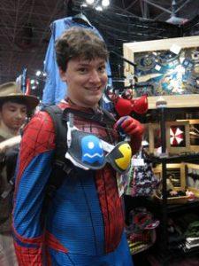 Cross dressing spiderman ?