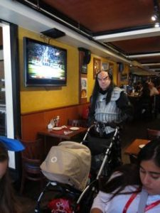 A Klingon walks into a bar ...