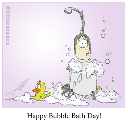 Happy Bubble Bath day!