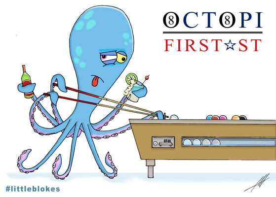 Oscar the Octopi