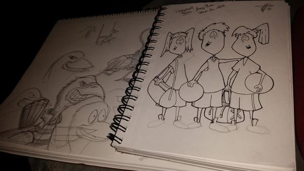 Dodgeball Teens: by Emiio Velez Jr - Fan art by littleblokes