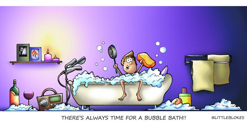 Bubble Bath Day by littleblokes