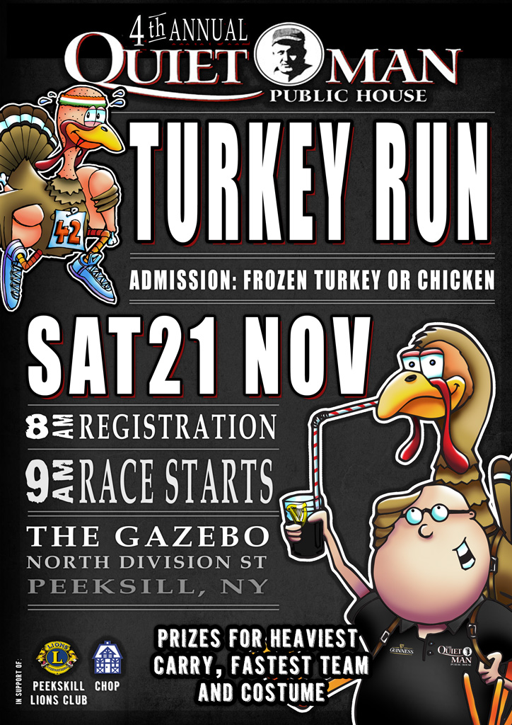 Quiet Man Public House Turkey Run 2015