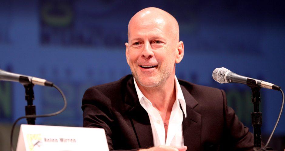 Bruce Willis spotted in Philadelphia