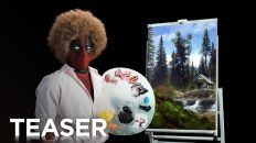 Deadpool shows us his happy little trees