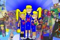 The Dodgeball Teens by Emilio Velez Jr.